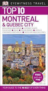 Montreal Eyewitness Top 10 9780241355947  Dorling Kindersley Eyewitness Top 10 Guides  Reisgidsen Canada ten oosten van de Rockies