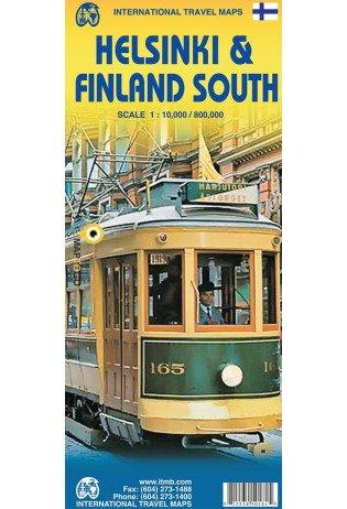 Zuid-Finland 1:800.000 / Helsinki 1:10.000 9781553410188  ITM   Landkaarten en wegenkaarten, Stadsplattegronden Finland