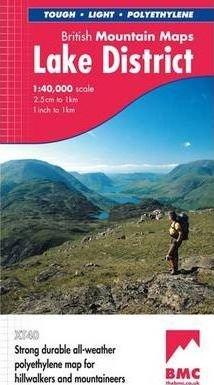 Lake District, British Mountain Map 1:40.000 9781851374670  Harvey Maps   Wandelkaarten Noord-Engeland