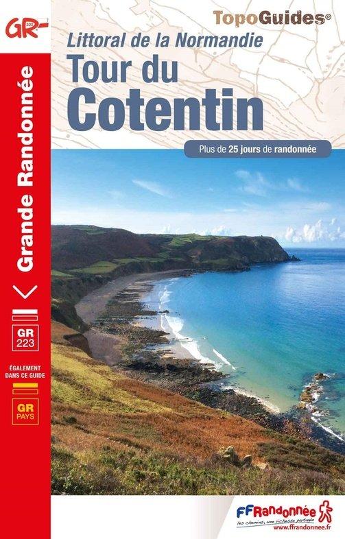 TG200  Tour du Cotentin GR-223, 290km 9782751402593  FFRP Topoguides  Meerdaagse wandelroutes, Wandelgidsen Normandië
