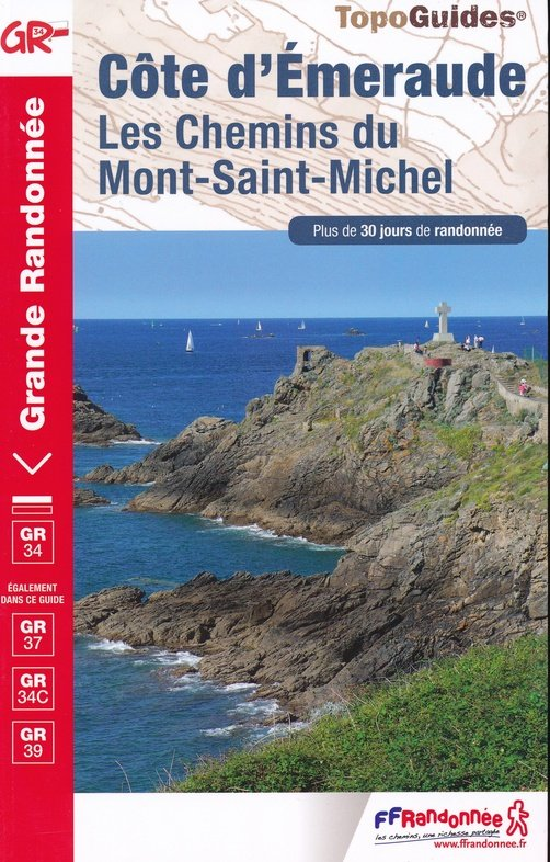 TG345  Côte d'Émeraude | wandelgids GR-34/34c/37 9782751402920  FFRP Topoguides  Meerdaagse wandelroutes, Wandelgidsen Bretagne