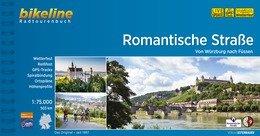 Bikeline Romantische Strasse | fietsgids 9783850007955  Esterbauer Bikeline  Fietsgidsen, Meerdaagse fietsvakanties Romantische Strasse, Schwaben