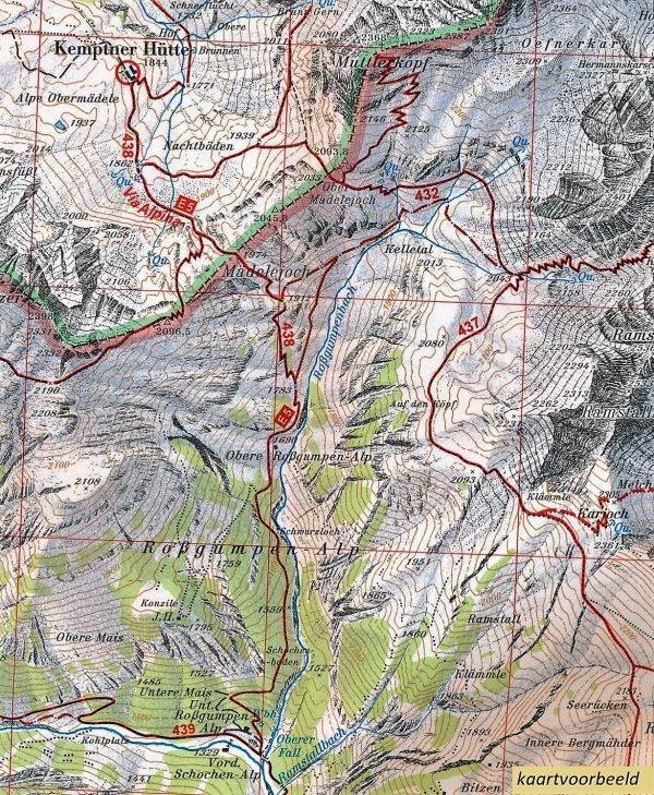 AV-26 Silvretta [2018] Alpenvereinskarte wandelkaart 9783937530802  AlpenVerein Alpenvereinskarten  Wandelkaarten Tirol & Vorarlberg