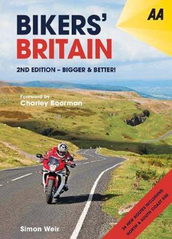Bikers' Britain 9780749581862 Simon Weir AA   Motorsport, Reisgidsen Groot-Brittannië