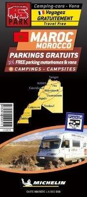 Marokko 1:1.000.000 camperroutes 9782919004515  Michelin   Campinggidsen, Op reis met je camper Marokko