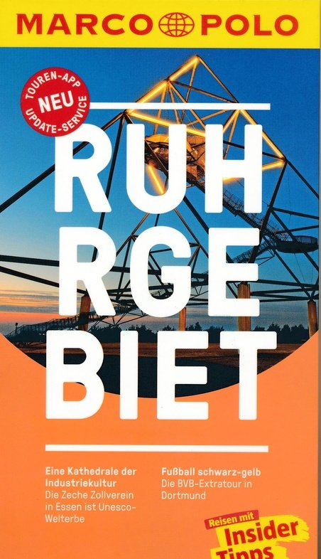 Marco Polo Ruhrgebiet (Duitstalig) 9783829729406  Marco Polo (D) MP reisgidsjes  Reisgidsen Ruhrgebied
