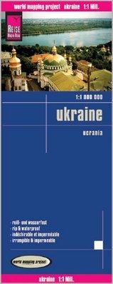 landkaart, wegenkaart Ukraine 1:1.000.000 9783831774265  Reise Know-How WMP Polyart  Landkaarten en wegenkaarten Oekraïne