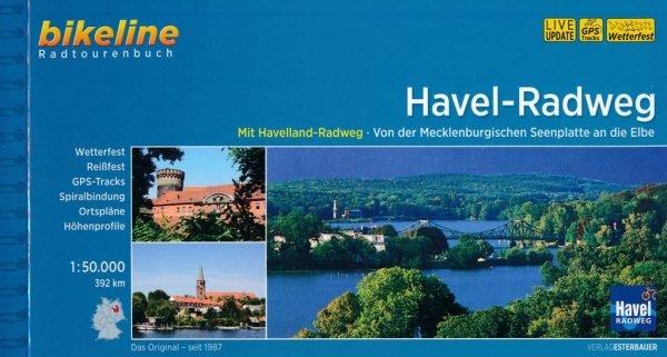 Bikeline Havel-Radweg Mecklenburgische Seenplatte - Elbe | fietsgids 9783850007733  Esterbauer Bikeline  Fietsgidsen Berlijn, Brandenburg