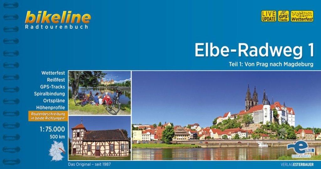 Bikeline Elbe-Radweg 1 | fietsgids 9783850007801  Esterbauer Bikeline  Fietsgidsen, Meerdaagse fietsvakanties Tsjechië