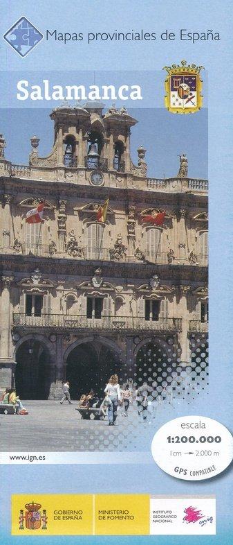 Prov.: Salamanca 1:200.000 9788441639423  CNIG Provinciekaarten Spanje  Landkaarten en wegenkaarten Castilië