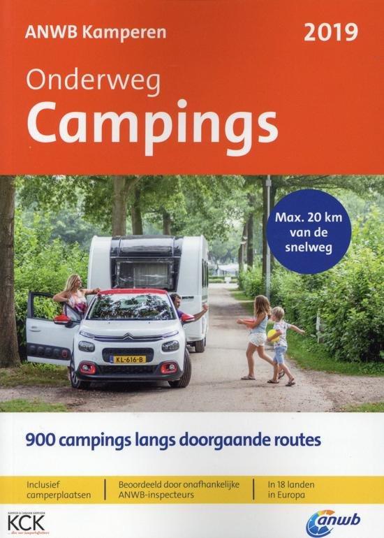 ANWB Campinggids Campings onderweg 9789018044510  ANWB ANWB Campinggidsen  Campinggidsen Europa