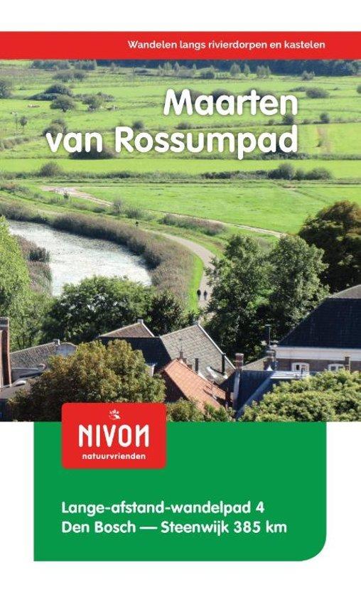 LAW 4 Maarten van Rossumpad 9789491142116  Nivon LAW-Gidsen  Meerdaagse wandelroutes, Wandelgidsen Oost Nederland