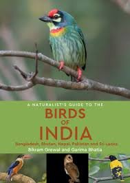 The Birds of India, a naturalist's guide to 9781909612075 Bikram Grewal en Garima Bhatia Joh Beaufoy Publishing   Natuurgidsen, Vogelboeken India