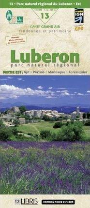 LB-13  Luberon Est  | wandelkaart 1:60.000 9782723453912  Libris Wandelkaarten Provence  Wandelkaarten tussen Valence, Briançon, Camargue en Nice