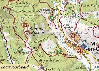 LB-06  Queyras, Ubaye | wandelkaart 1:60.000 9782723476706  Libris Wandelkaarten Franse Alpen  Wandelkaarten tussen Valence, Briançon, Camargue en Nice
