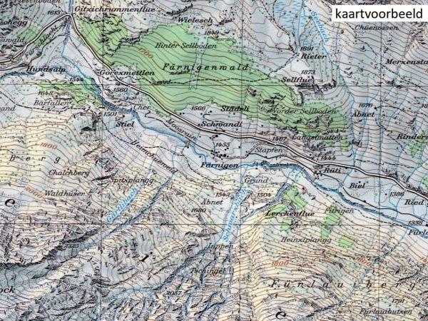 CH-1296  Sciora [2017] topografische wandelkaart 9783302012964  Bundesamt / Swisstopo LKS 1:25.000  Wandelkaarten Graubünden, Tessin