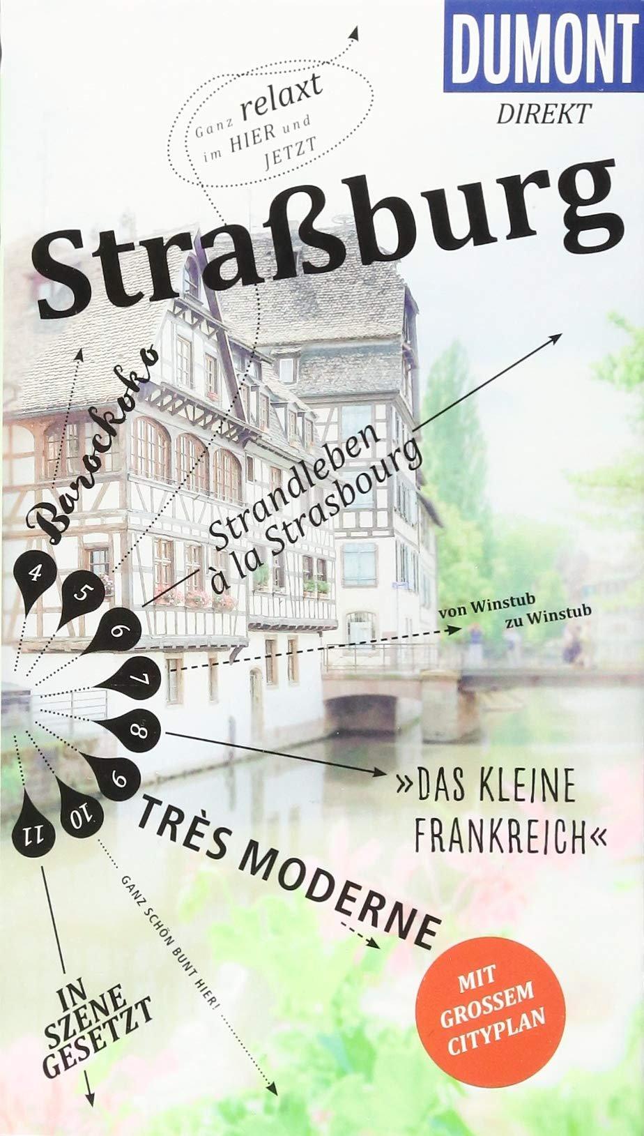Strassburg 9783770184620  Dumont Dumont direkt  Reisgidsen Vogezen