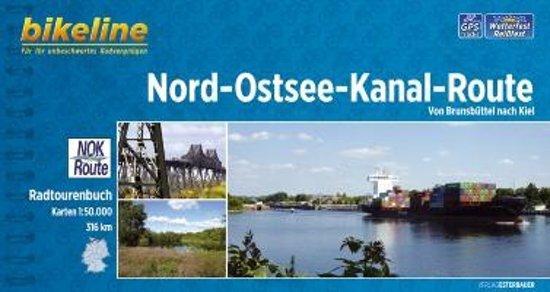 Bikeline Nord-Ostsee-Kanal-Route | fietsgids 9783850003650  Esterbauer Bikeline  Fietsgidsen Schleswig-Holstein, Lübeck