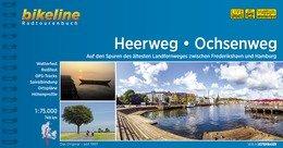 Bikeline Heerweg, Ochsenweg | fietsgids 9783850007658  Esterbauer Bikeline  Fietsgidsen, Meerdaagse fietsvakanties Denemarken