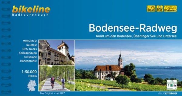 Bikeline Bodensee-Radweg (D/A/CH)   fietsgids 9783850007719  Esterbauer Bikeline  Fietsgidsen, Meerdaagse fietsvakanties Baden-Württemberg, Zwarte Woud