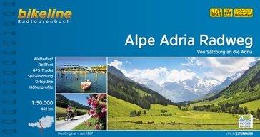 Bikeline Alpe Adria Radweg | fietsgids 9783850007986  Esterbauer Bikeline  Fietsgidsen, Meerdaagse fietsvakanties Europa