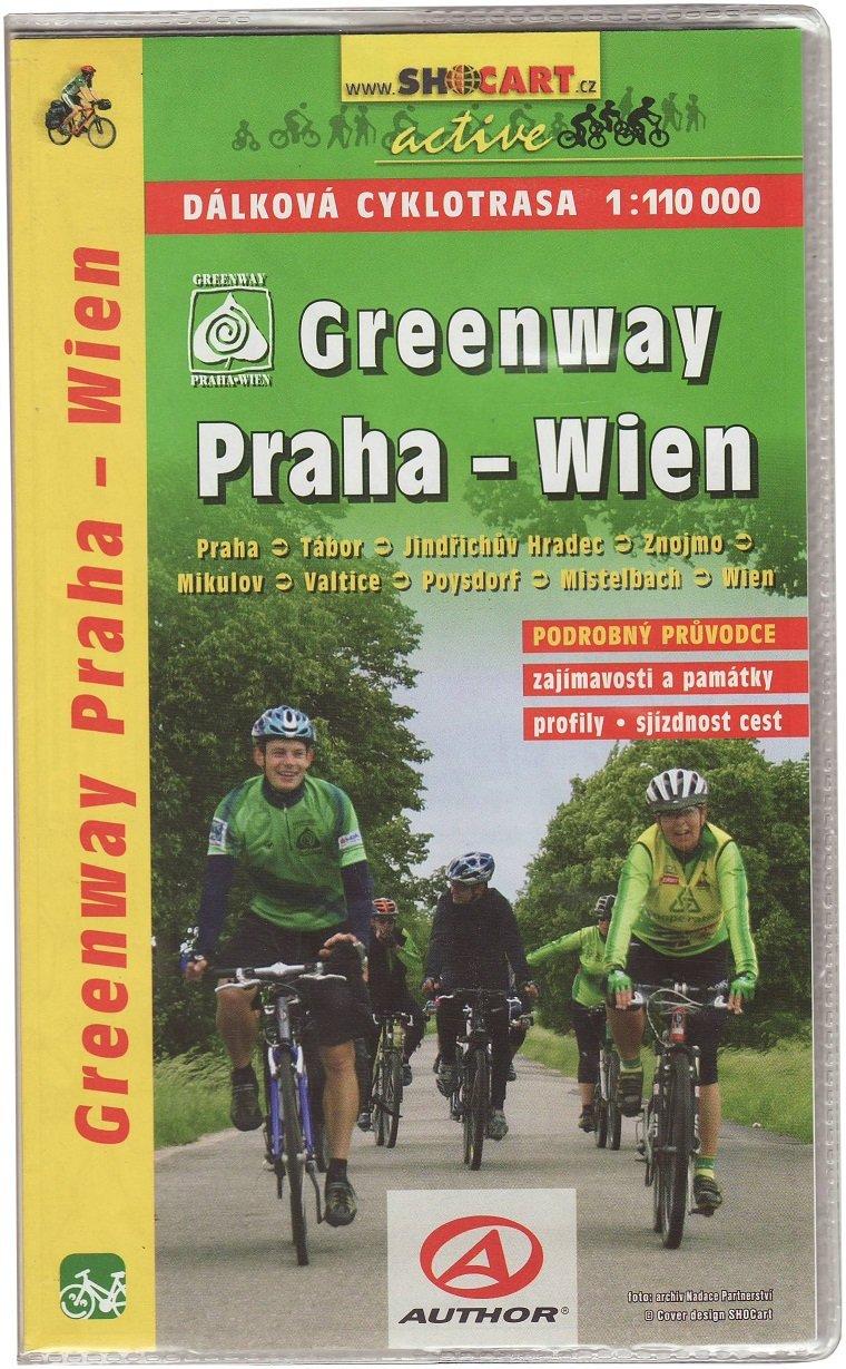 Greenway: Praha - Wien 1:110.000 9788072246366  SHOCart   Fietsgidsen, Meerdaagse fietsvakanties Tsjechië
