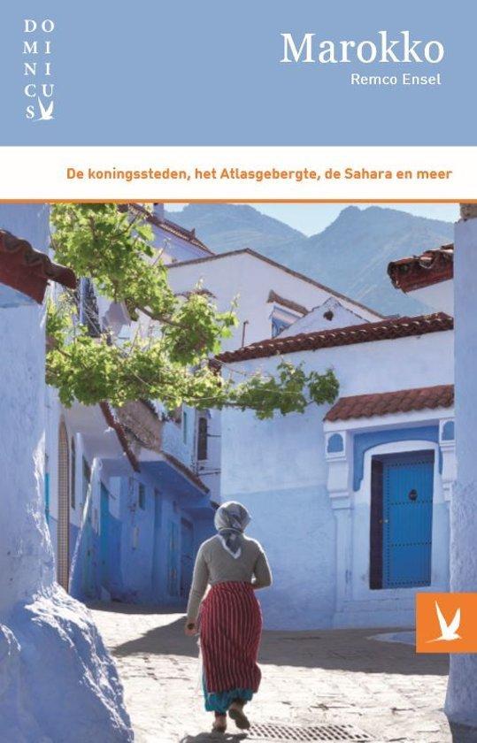 Dominicus reisgids Marokko 9789025765019  Gottmer Dominicus reisgidsen  Reisgidsen Marokko