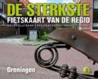 DSF-03 De sterkste fietskaart Groningen 1:50.000 9789058816290  Buijten & Schipperheijn DSF  Fietskaarten Groningen