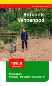SP-05  Brabants Vennenpad | Streekpad 9789491142147  Nivon Streekpaden  Meerdaagse wandelroutes, Wandelgidsen Noord-Brabant