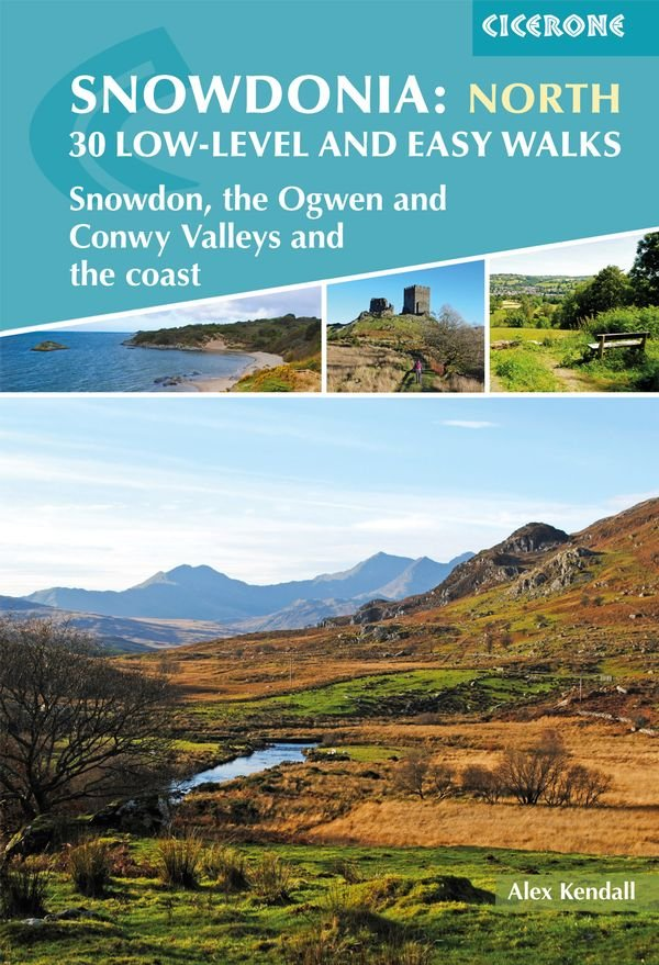 Snowdonia North | wandelgids 9781852849849 Alex Kendall Cicerone Press   Cadeau-artikelen, Wandelgidsen Noord-Wales, Anglesey, Snowdonia