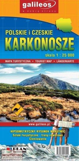 Karkonosze | wandelkaart 1:25.000 9788362917242  Galileos   Wandelkaarten Polen