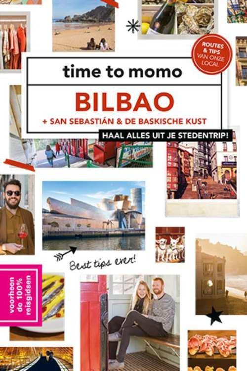 Time to Momo Bilbao (100%) 9789057678981  Mo Media Time to Momo  Reisgidsen Noordwest-Spanje, Compostela, Picos de Europa