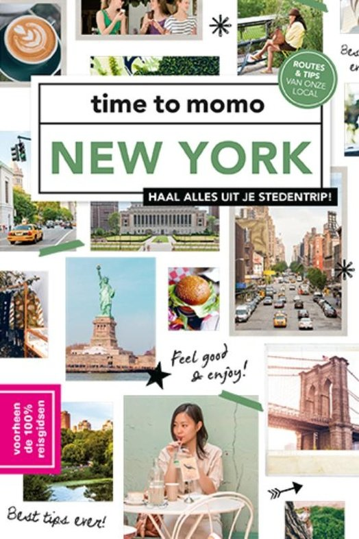 Time to Momo New York (100%) 9789057679445  Mo Media Time to Momo  Reisgidsen New York, Pennsylvania, Washington DC