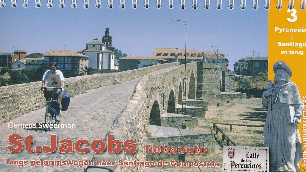 St.Jacobs fietsroute, deel 3 9789064558689 Sweerman Pirola Pirola fietsgidsen  Fietsgidsen, Meerdaagse fietsvakanties Noordwest-Spanje, Compostela, Picos de Europa