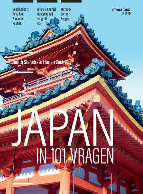Japan in 101 vragen | Judith Stalpers 9789090318592 Judith Stalpers Yoyogi Park   Cadeau-artikelen, Landeninformatie Japan