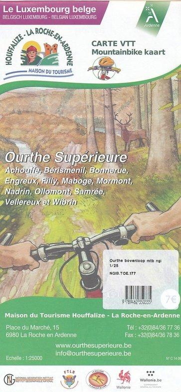 Mountainbike Houffalize 1:50.000 9789462350335  NGI NGI/VVV-kaarten 50d  Fietskaarten Wallonië (Ardennen)