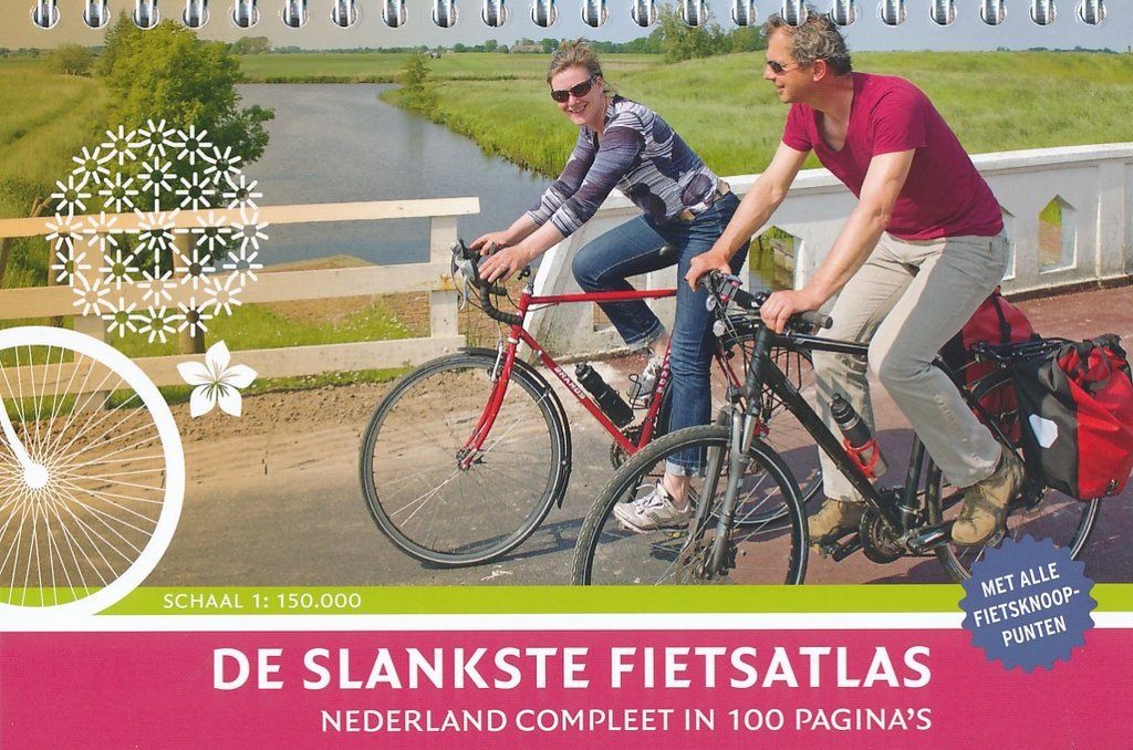 De slankste fietsatlas van Nederland 9789463690362  Buijten & Schipperheijn   Fietskaarten Nederland