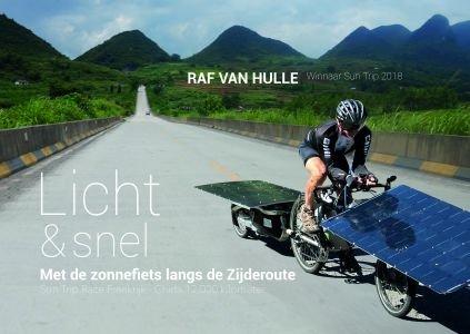 Met de zonnefiets naar de Zijderoute   reisverhaal Raf Van Hulle 9789492419491 Raf Van Hulle Willems   Fietsgidsen Afrika