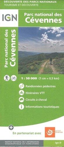 Cevennen wandelkaart 1:50.000 Cévennes 9782758549017  IGN TOP 75  Wandelkaarten Cevennen, Lozère, Gard en Aveyron