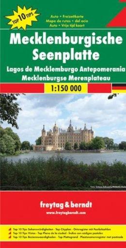 Overzichtskaart Mecklenburgische Seenplatte 1:150.000 9783707909531  Freytag & Berndt F&B deelkaarten Duitsland  Landkaarten en wegenkaarten Mecklenburg-Vorpommern