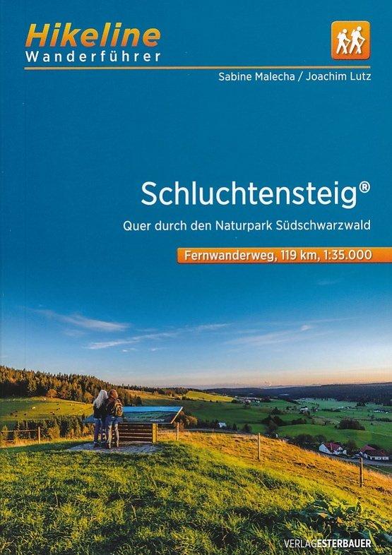 Fernwanderweg Schluchtensteig | Hikeline Wanderführer (wandelgids) 9783850007795  Esterbauer Hikeline wandelgidsen  Wandelgidsen, Meerdaagse wandelroutes Baden-Württemberg, Zwarte Woud