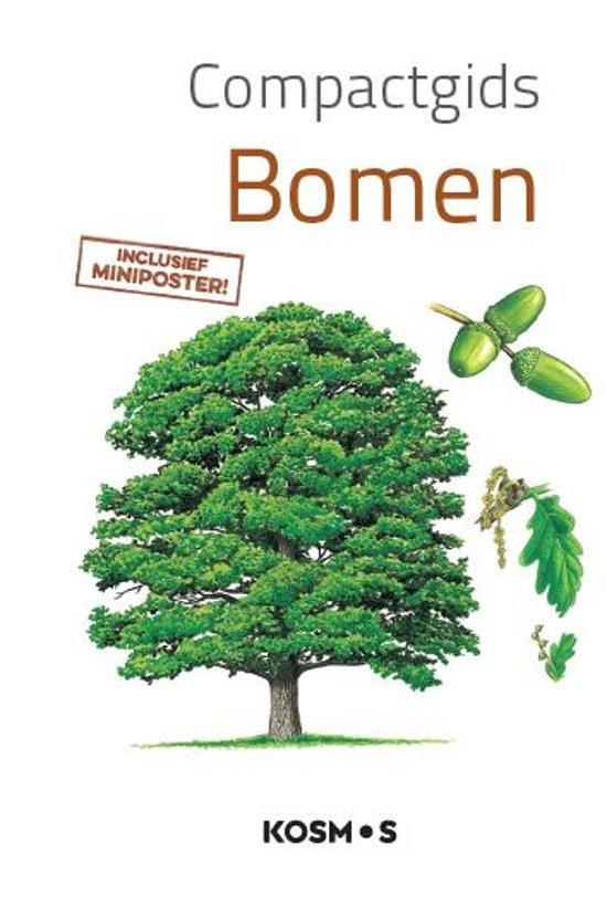 Compactgids bomen 9789021567679  Kosmos   Natuurgidsen, Plantenboeken Europa