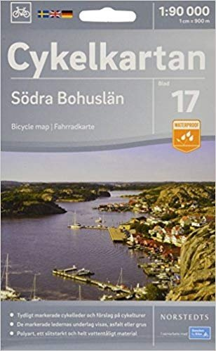 NC-17 Södra Bohuslan 1:90.000 9789113084015  Norstedts Cykelkartan Fietskaarten Zweden  Fietskaarten Zuid-Zweden
