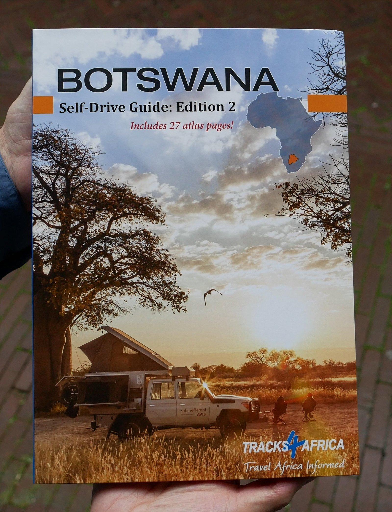 Botswana Self-Drive Guide tracks 9780992183042  Tracks4Africa   Reisgidsen, Wegenatlassen Botswana, Namibië