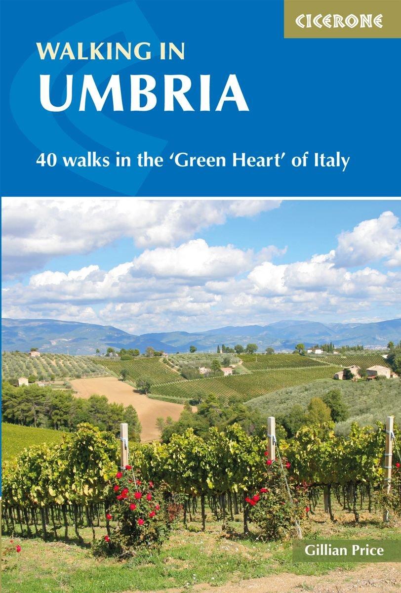 Walking in Umbria 9781852849665 Gillian Price Cicerone Press   Cadeau-artikelen, Wandelgidsen Toscane, Umbrië, de Marken