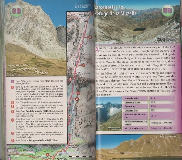 The Tour of the Ecrins National Park (GR-54) 9781912933006  Knife Edge   Meerdaagse wandelroutes, Wandelgidsen Franse Alpen: zuid