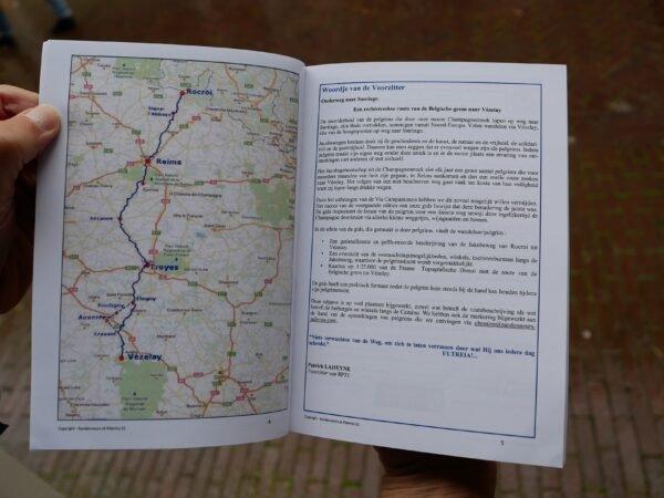 Via Campaniensis: Rocroi-Vézelay | wandelgids Jacobsroute 9782954356532  Saint-Jacques de la Voie de Vézelay   Santiago de Compostela, Wandelgidsen Frankrijk
