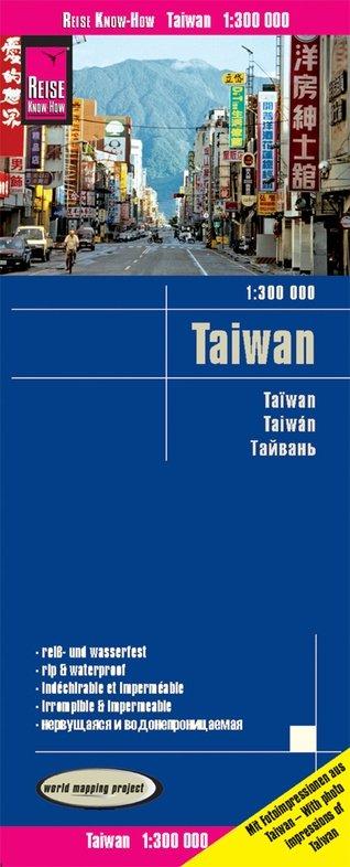 landkaart, wegenkaart Taiwan 1:300.000 9783831774227  Reise Know-How WMP Polyart  Landkaarten en wegenkaarten Taiwan