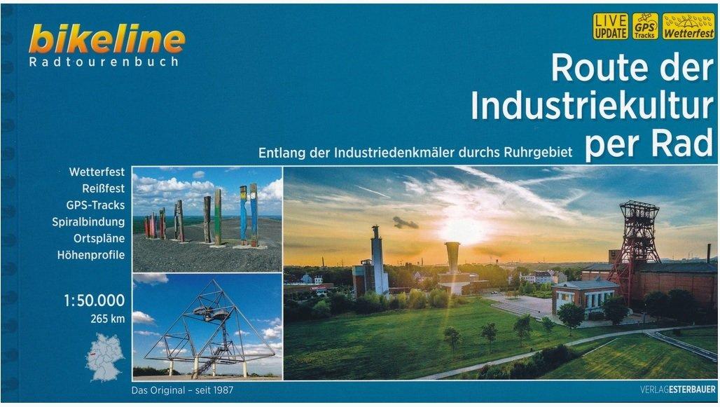 Bikeline Route der Industriekultur per Rad 9783850007535  Esterbauer Bikeline  Fietsgidsen Ruhrgebied