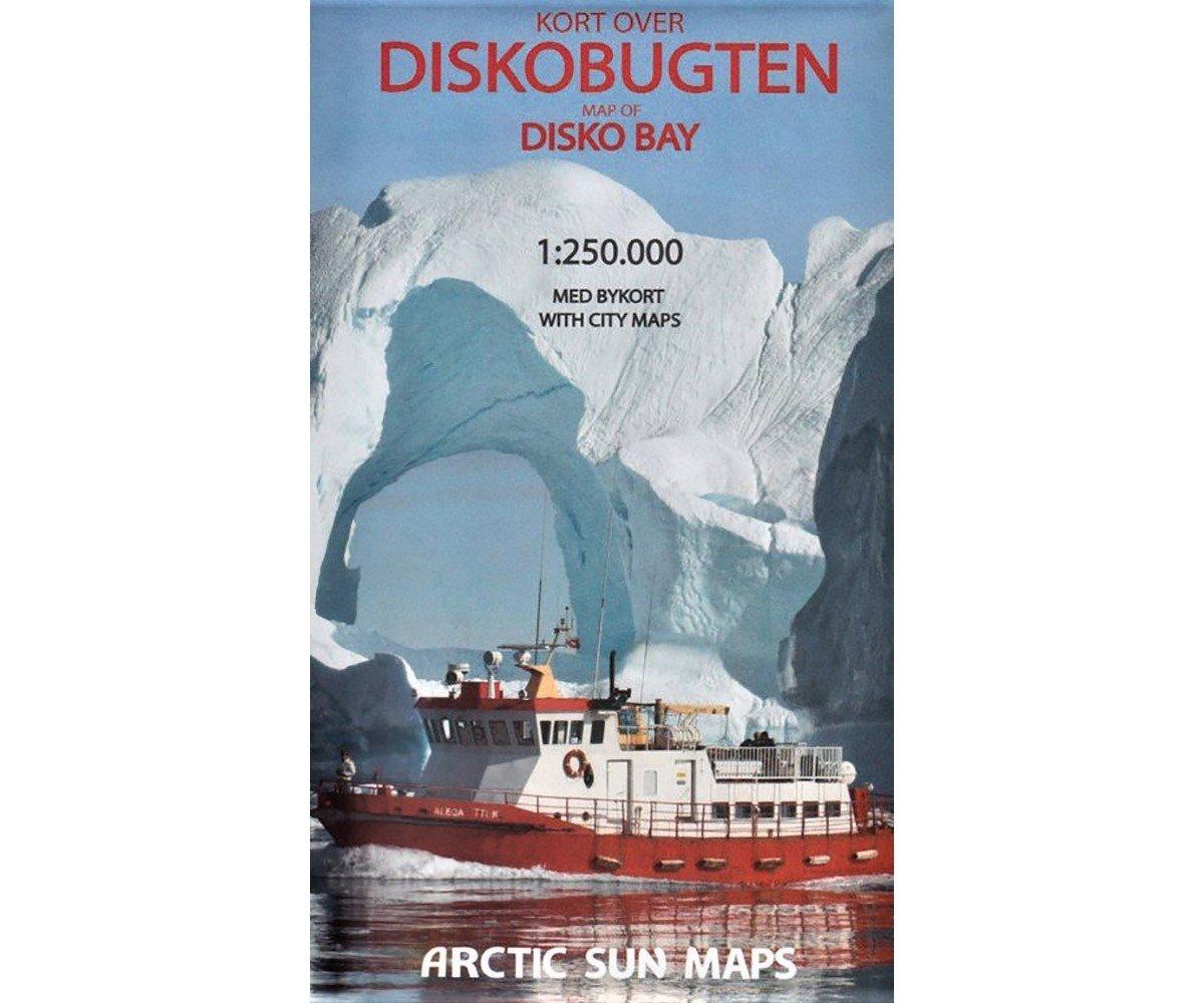 Disko Bay | overzichtskaart 1:250.000 9788799292554  Arctic Sun Maps   Landkaarten en wegenkaarten Groenland